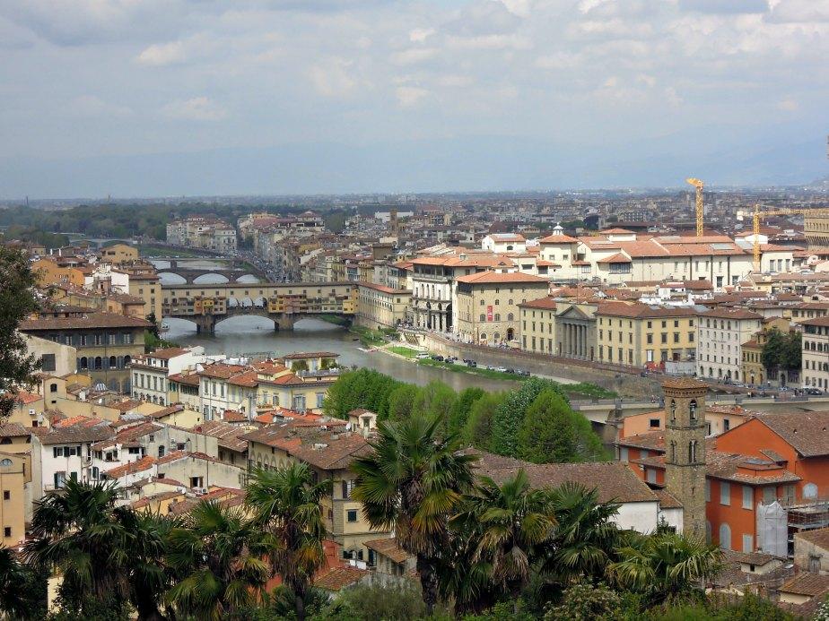 Ponte Vecchio and Ponte Santa Trinita