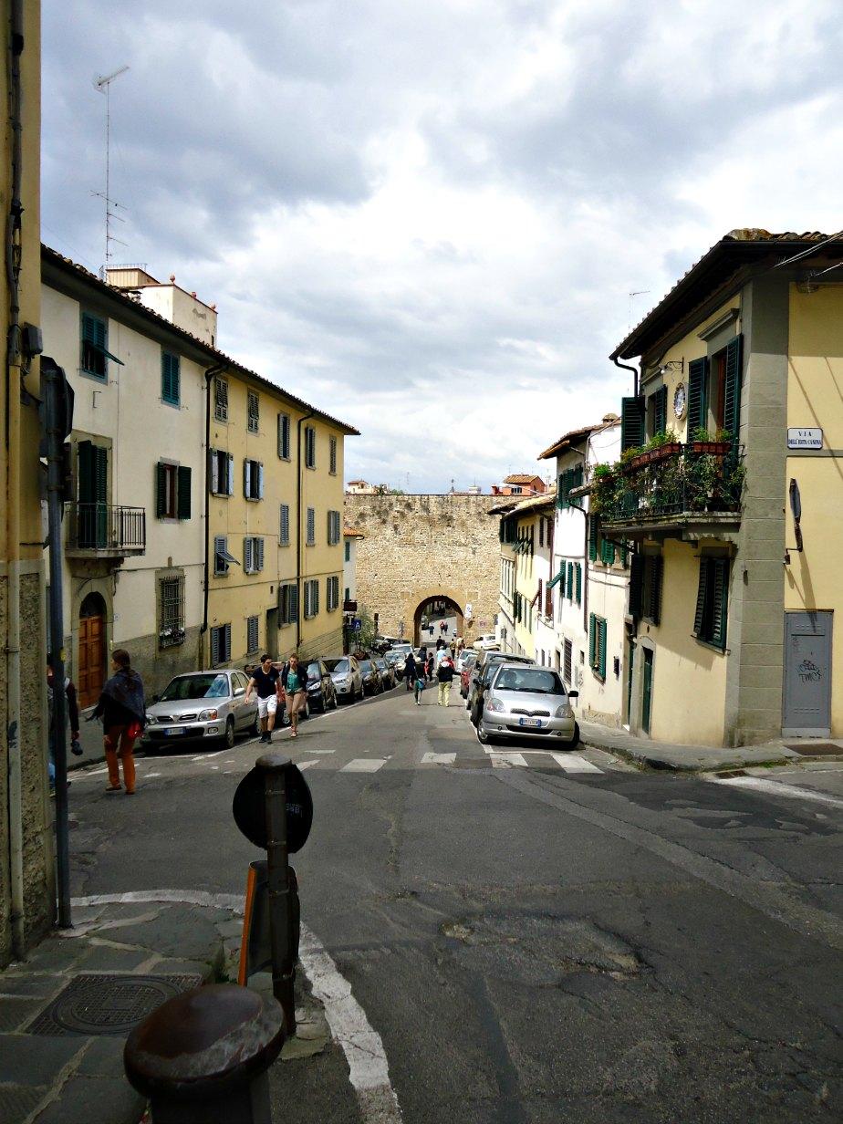 Porta San Miniato in the Ancient Walls