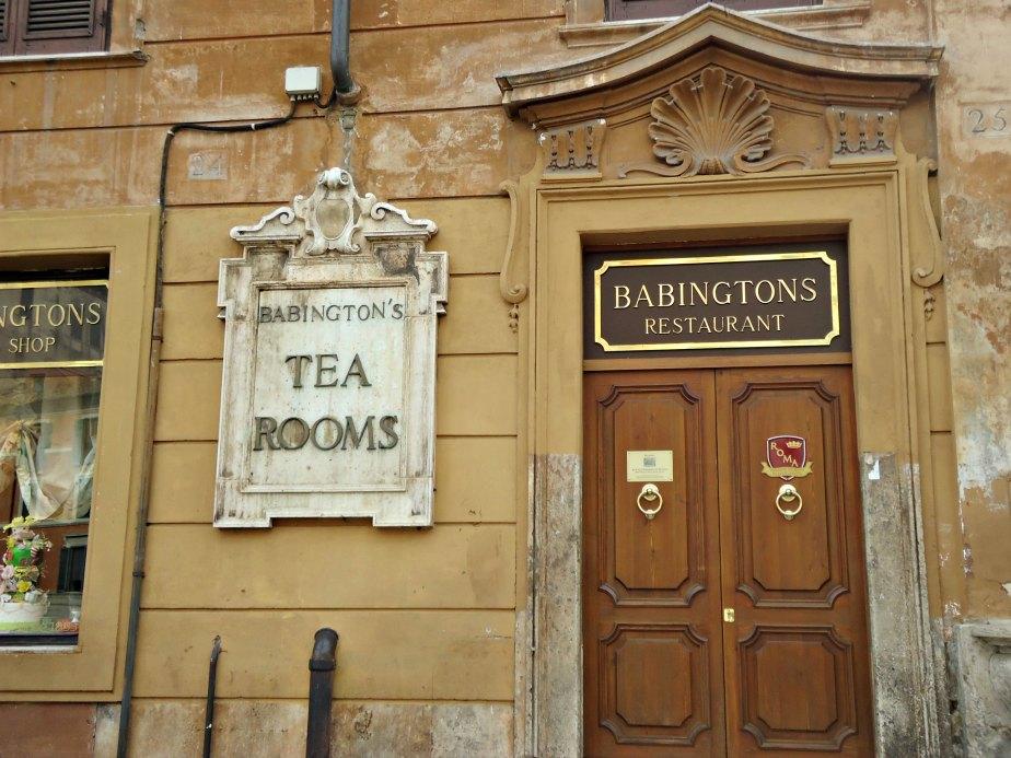 Babington's Historic Facade