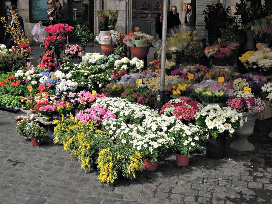 Field of Flowers, Campo dei Fiori, Rome