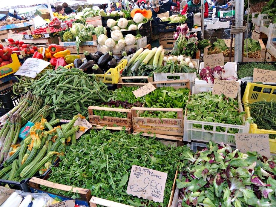 Campo dei Fiori Market Vegetables, Rome