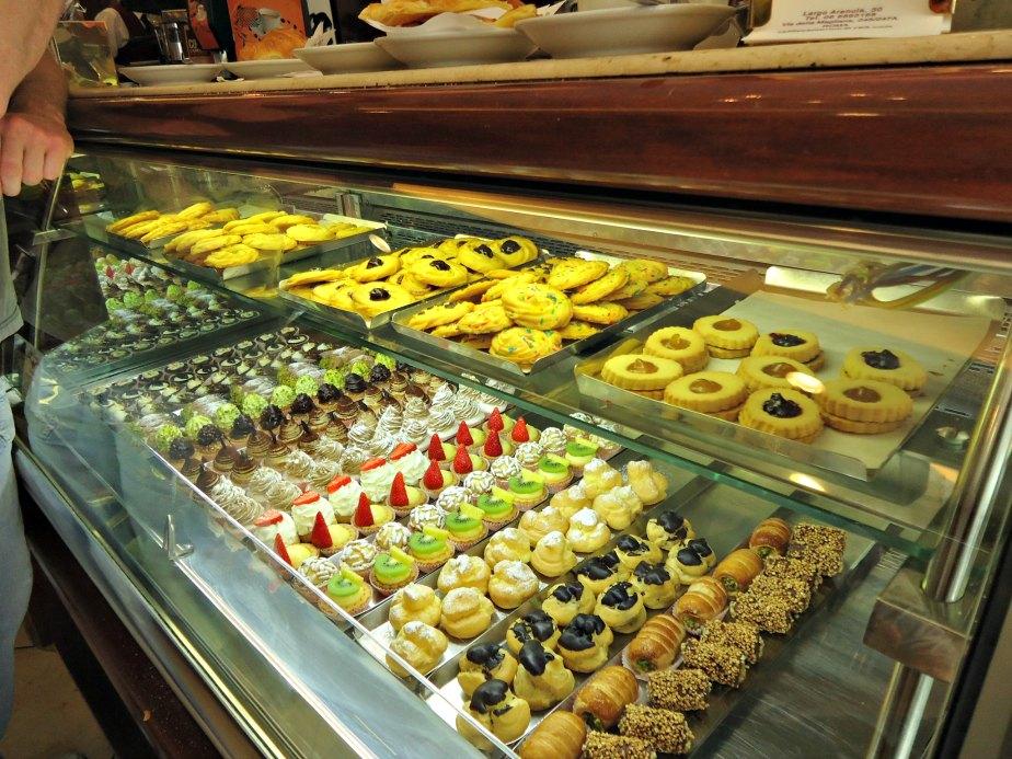 Mini Pastries at Cafffe Camerino, Rome