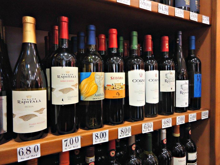 Wine at Ruggeri, Campo dei Fiori