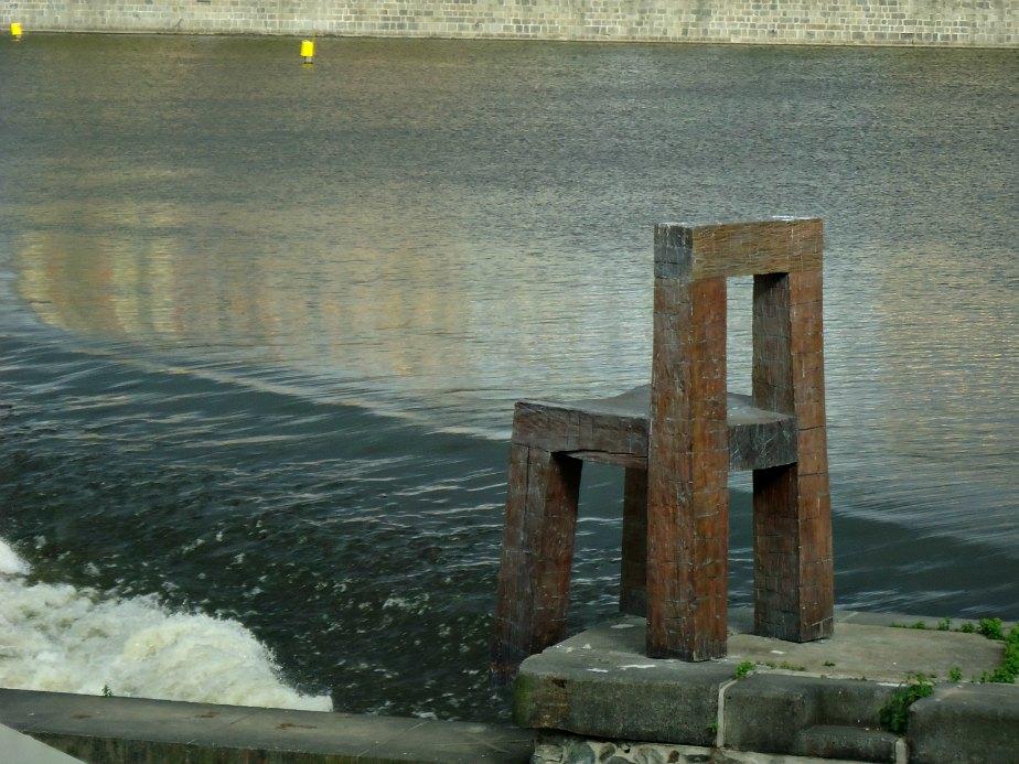Vltava Chair by Magdalena Jetolova Prague