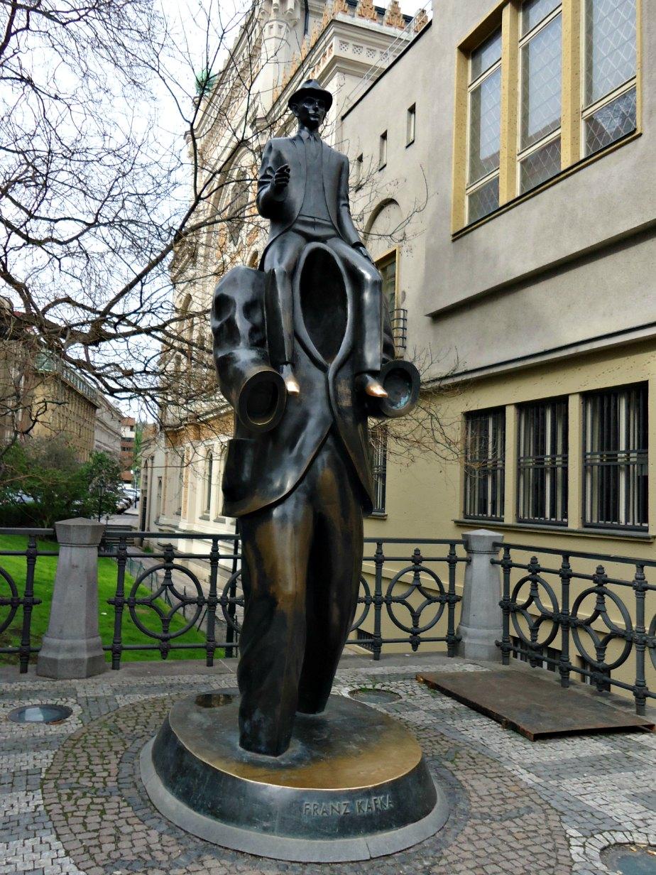 Franz Kafka Statue Prague