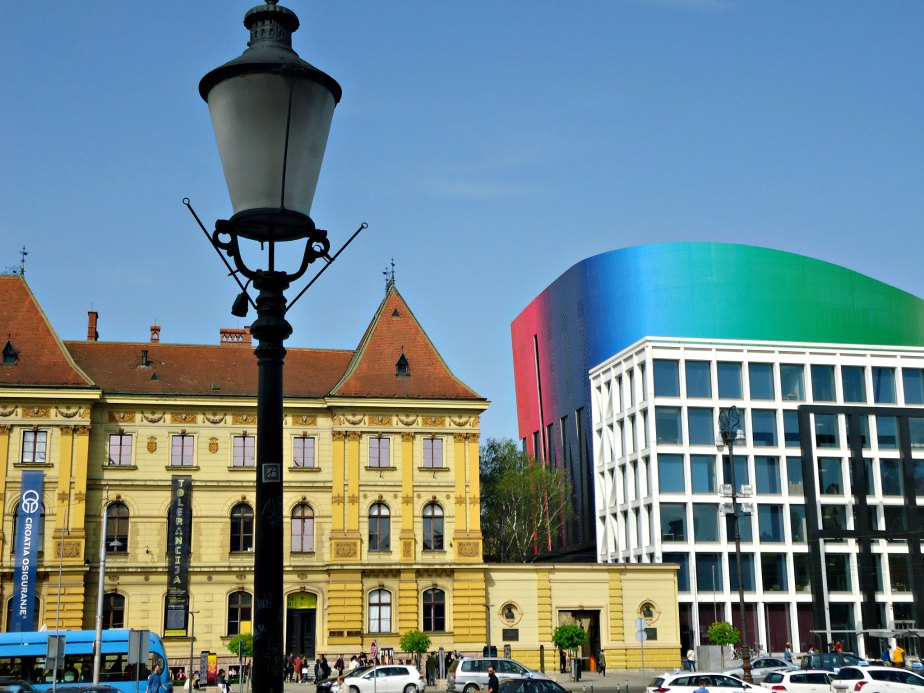 Old and New in Zagreb