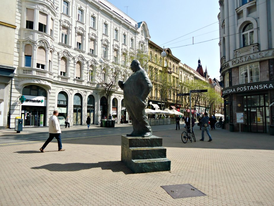 Stjepan Radic Statue