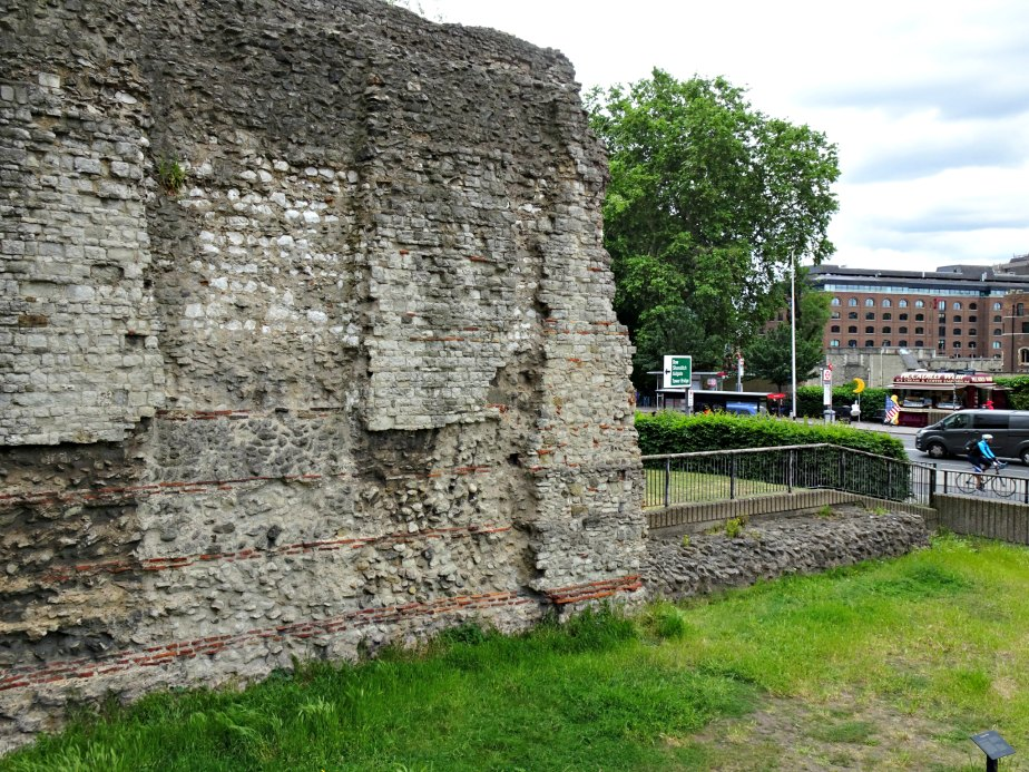 Original Roman Londinium Walls