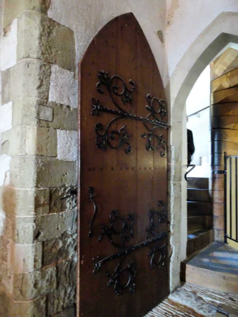 Old Wooden Door, about 700 Years Old