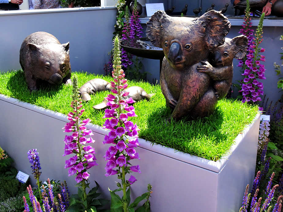 Australian Garden Sculptures at the Chelsea Flower Show