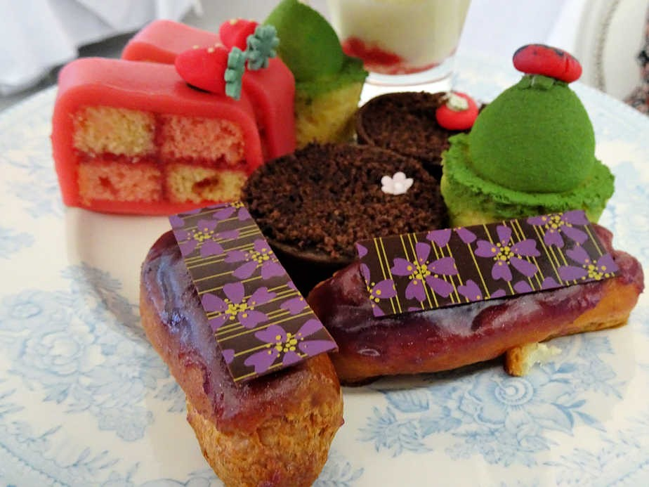 Afternoon Tea at the Drawing Room, Chelsea Flower Show