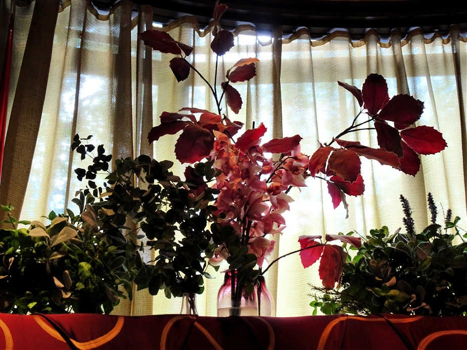 Flowers in the Dorchester