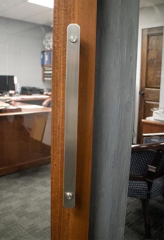 stainless steel sliding door pull handle