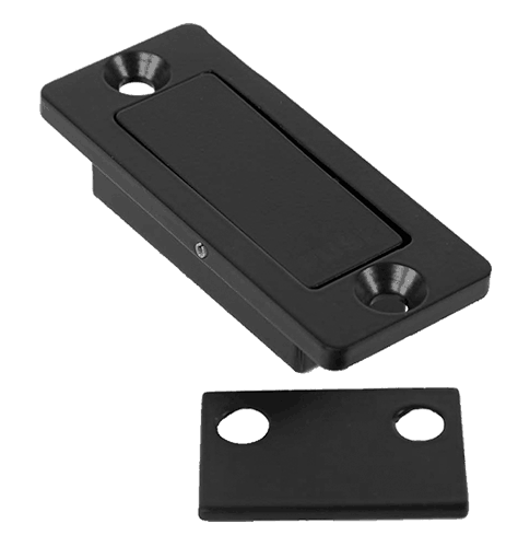 steel privacy latch for barn doors