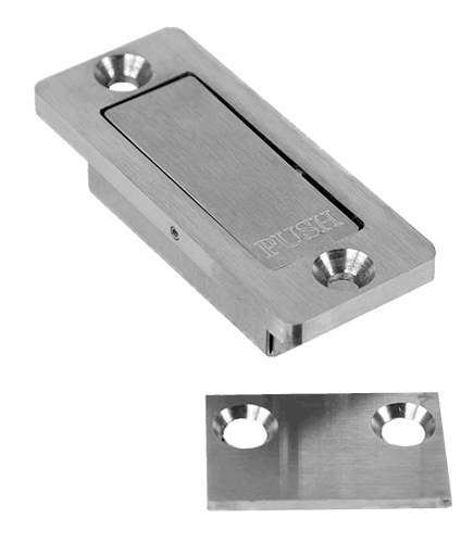 stainless steel privacy latch for barn doors