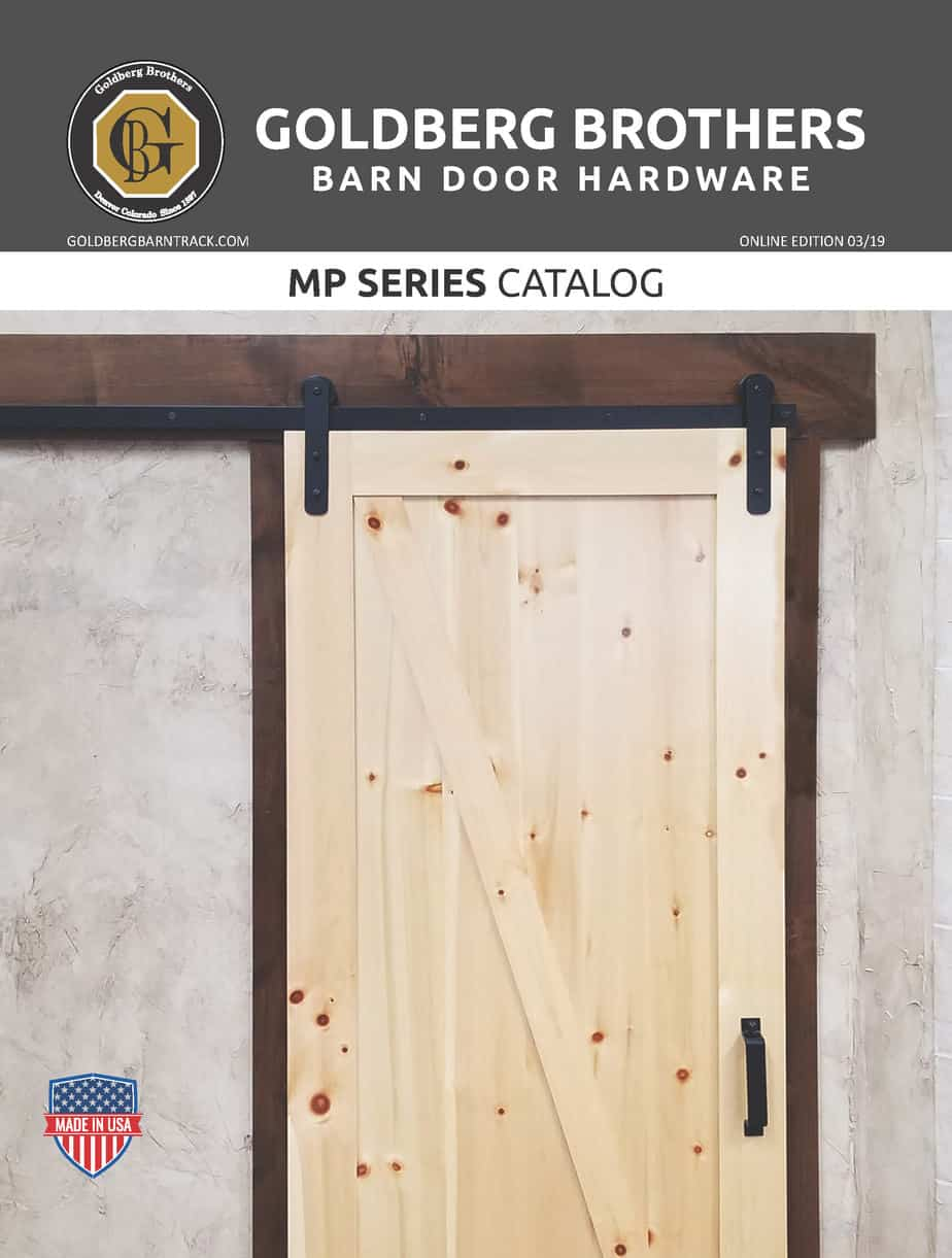 Goldberg Brothers MP Series barn door hardware catalog (online edition)