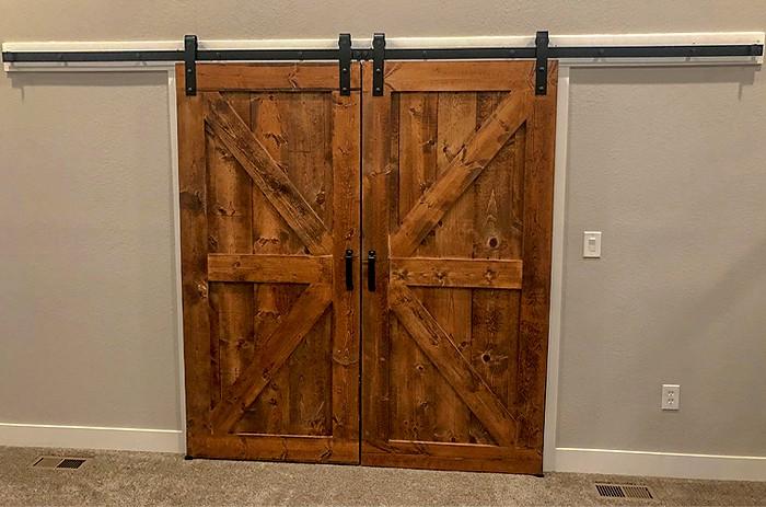 Goldberg Brothers barn door hardware, made in USA