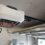 New LiftMaster 8550 garage door opener installation