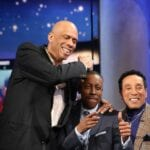 Kareem Messing Around with Arsenio & Smokey Robinson