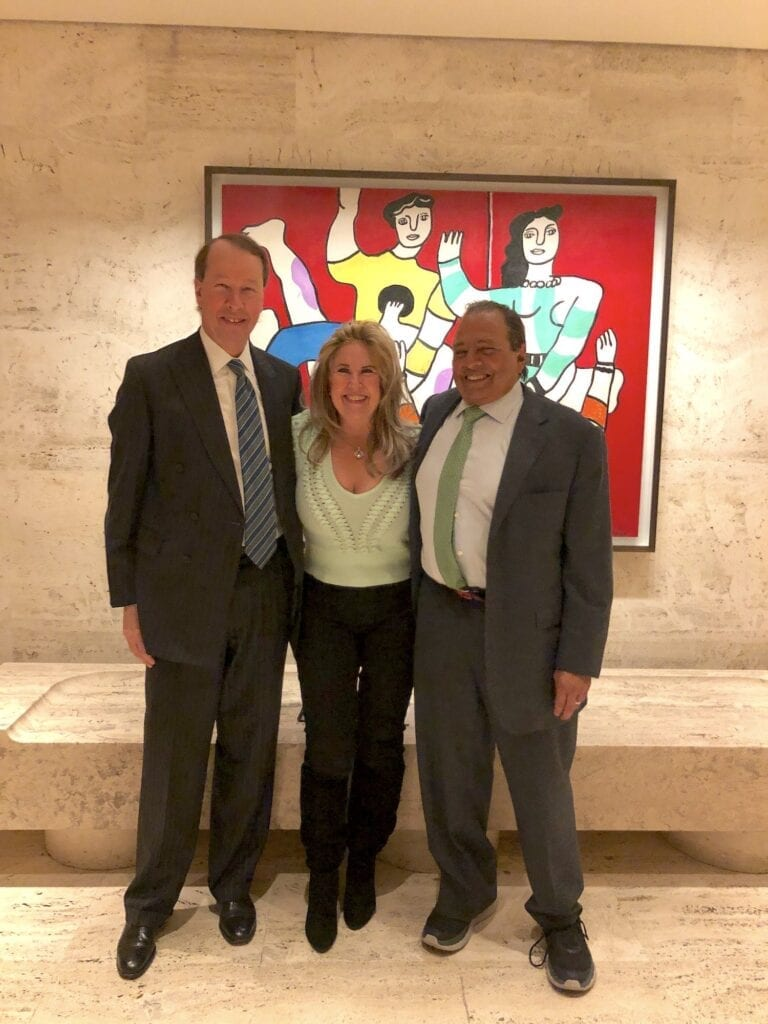 Tony James, Vice Chairman Blackstone, Deborah Morales SVP of Entertaintment Nano Banc and Douglas Durst, President & Chairman Durst Organization @ The Grill New York City 2/11/20