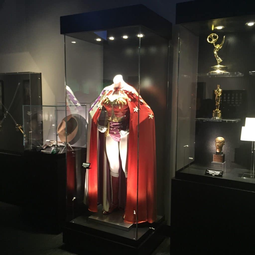 Custom Glass Showcase and Superhero