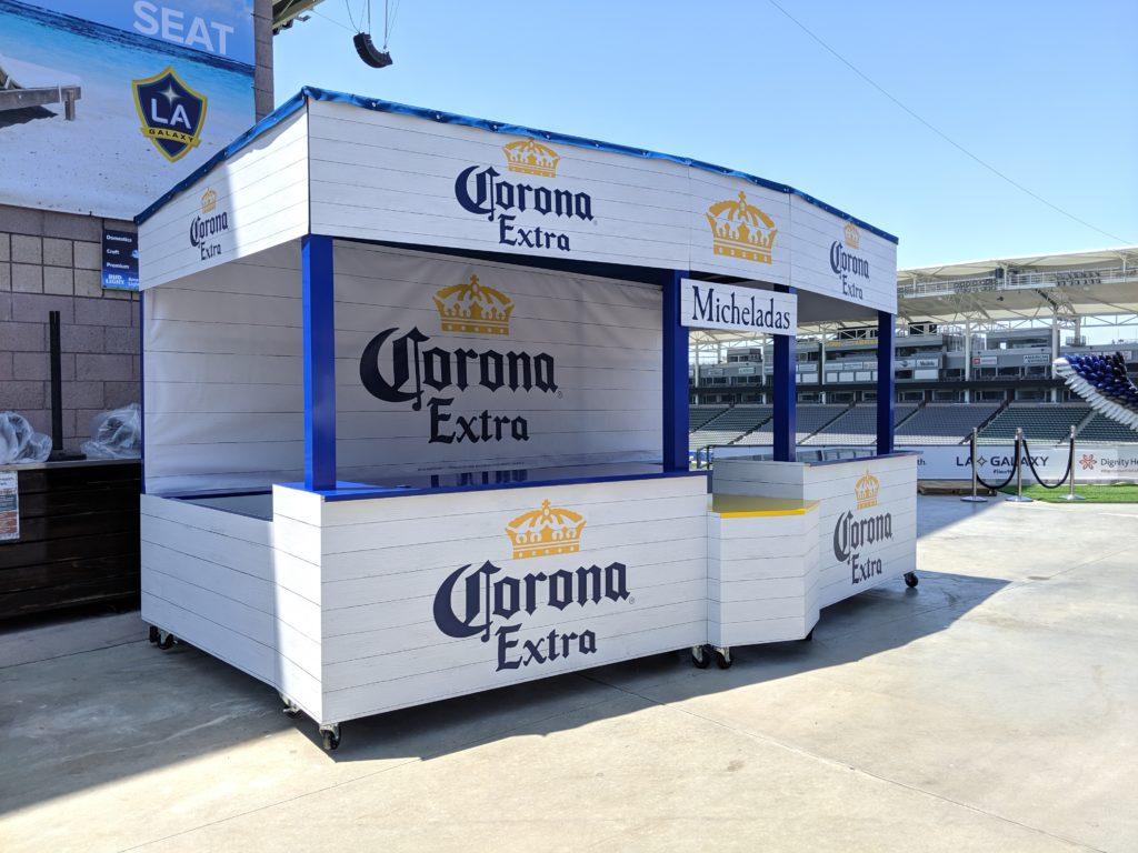 Photo Of Corona Mobile Bar at StubHub Stadium