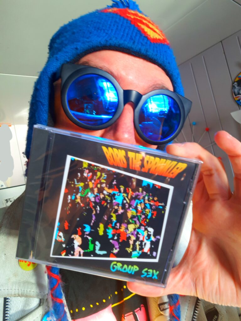 Boris the Sprinkler Circle Jerks cover album
