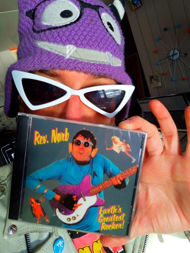 Lead singer for Boris the Sprinkler Second Solo Album
