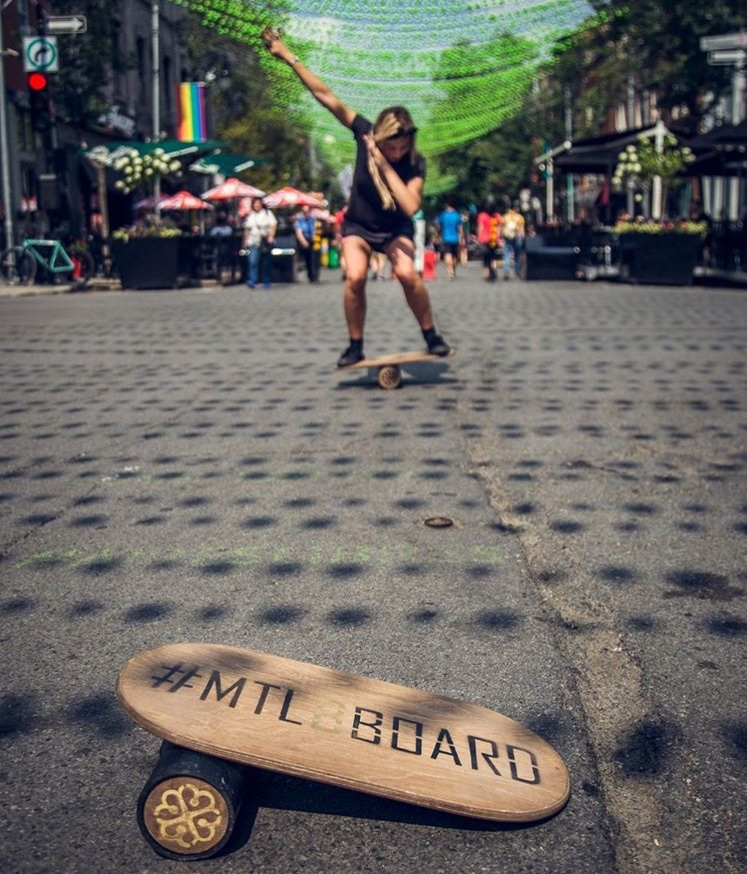 Sharing is caring. Montreal B-Board. www.ntuiva.com