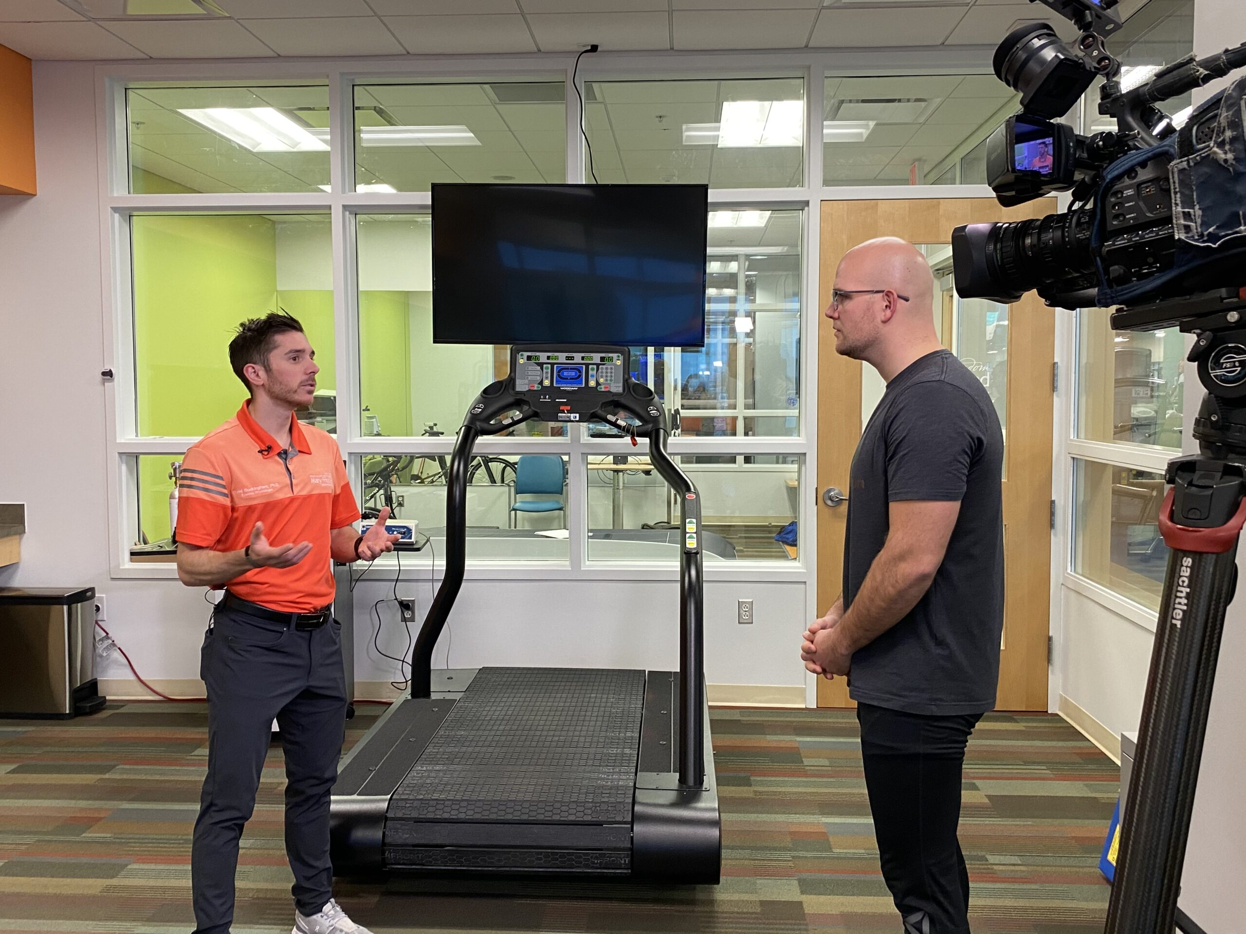 Fox 17's Brody Carter Living Healthier through a Triathlon Transformation