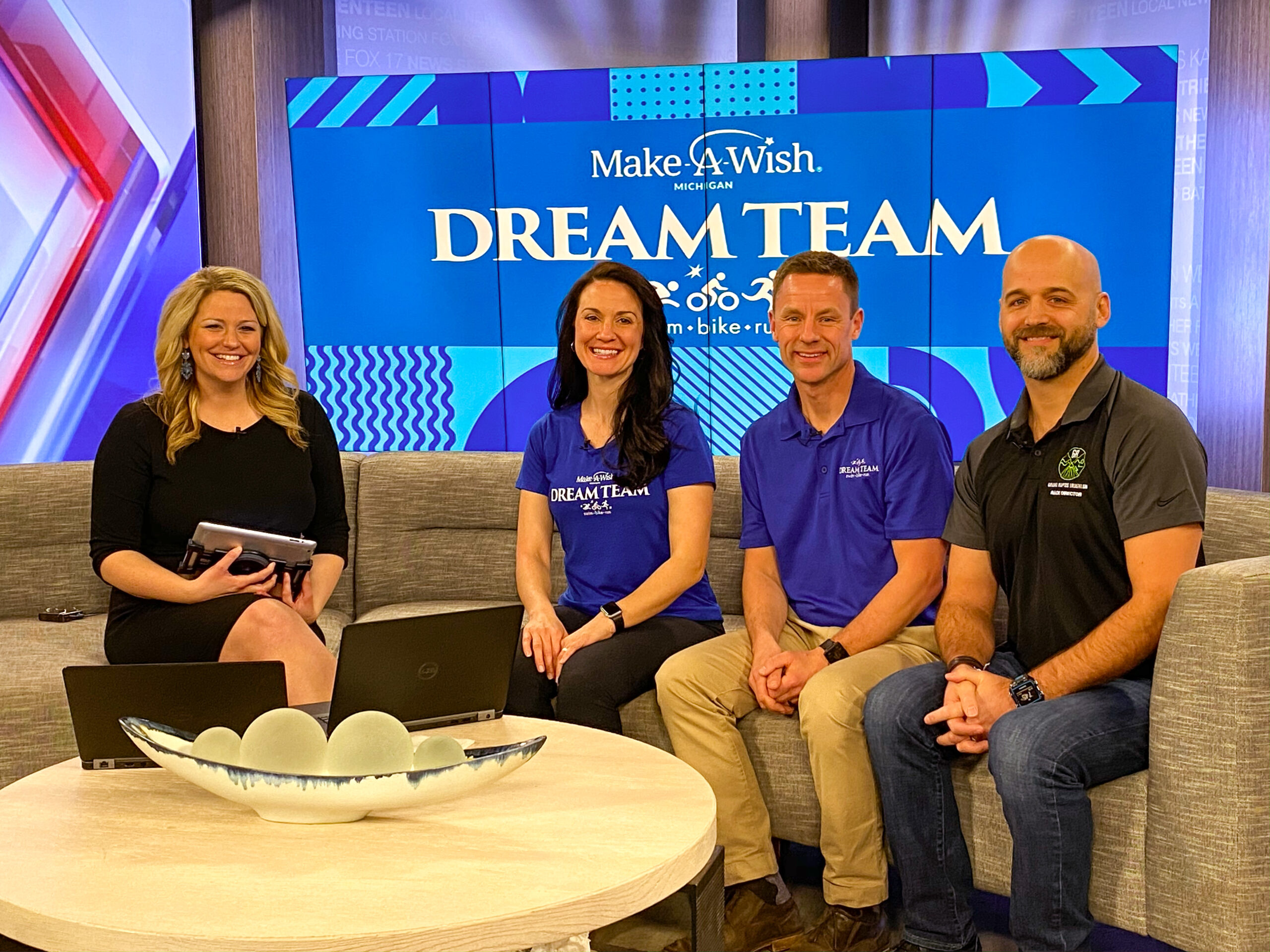 The GRI Tri teams up with the Dream Team Benefiting Make-A-Wish Michigan