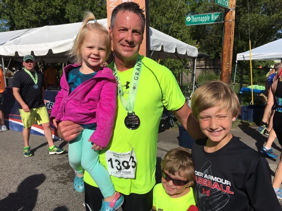 Meet the GR Tri Race Staff: Eric Mentalewicz
