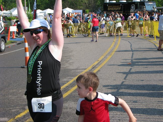 Meet the GR Tri Race Staff: Lori Ott