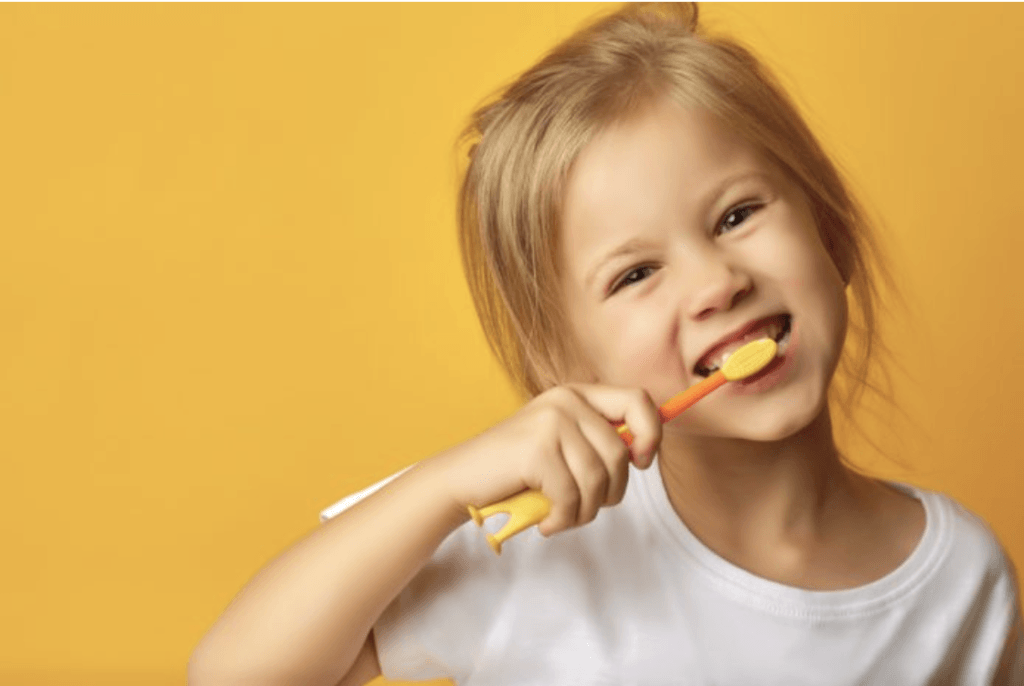"February is ""National Kids Dental Health Month"""