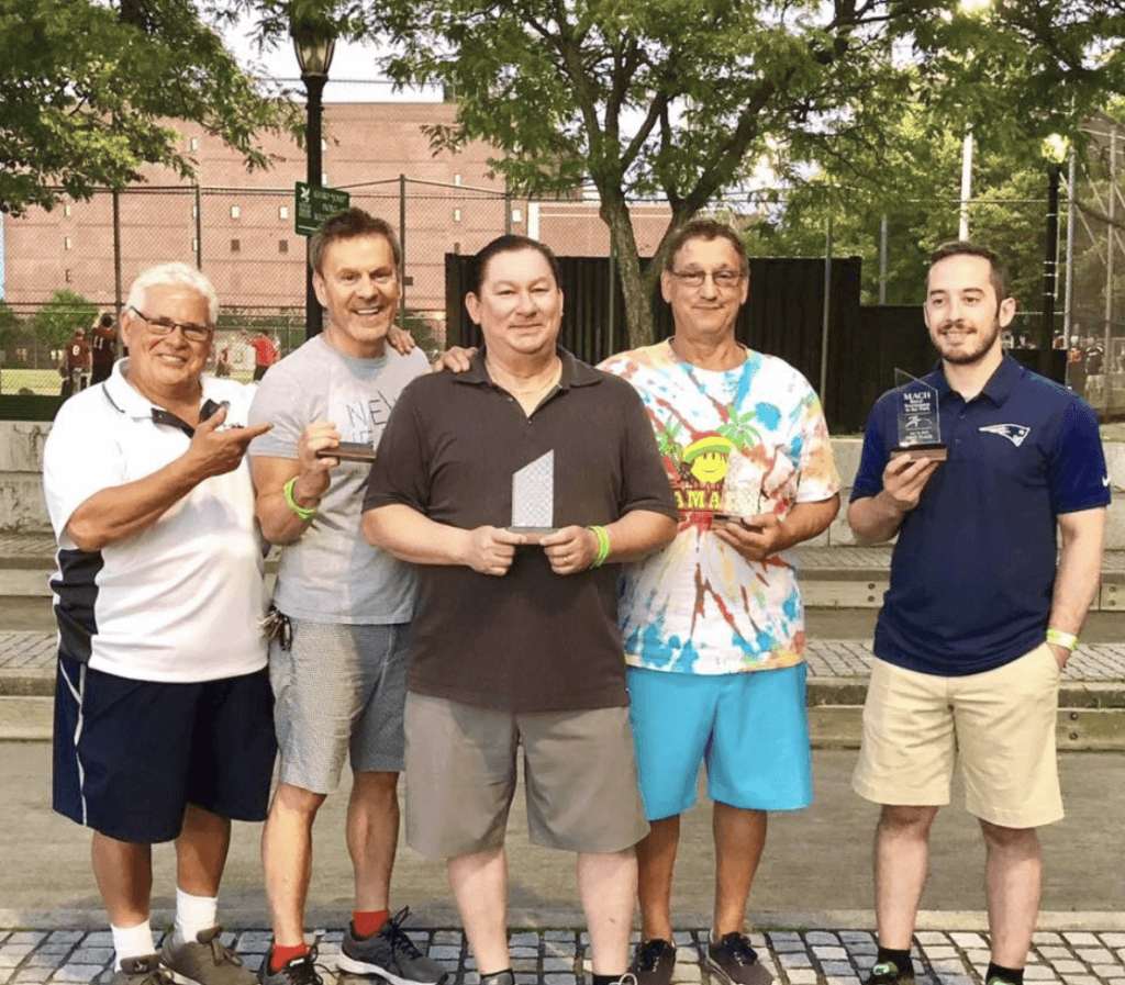 NEW Health Wins Health Center Bocce Tournament