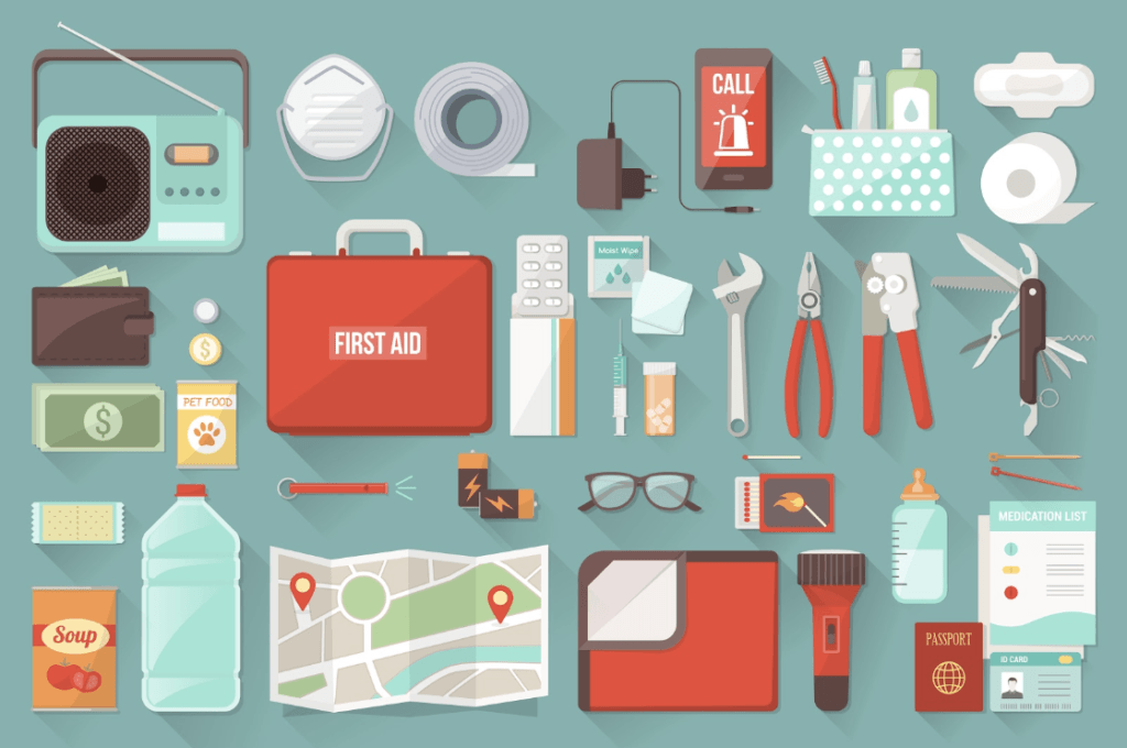 "Recommendations for Preparing a ""Go Bag"" for Emergency Situations"