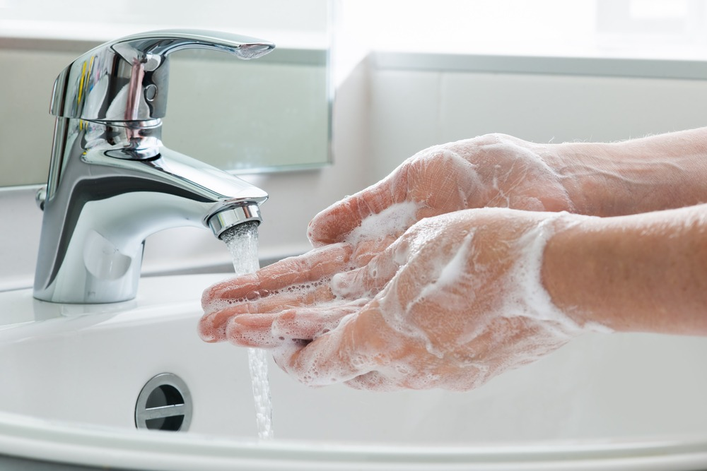 CDC recommended tips for avoiding germs during flu season