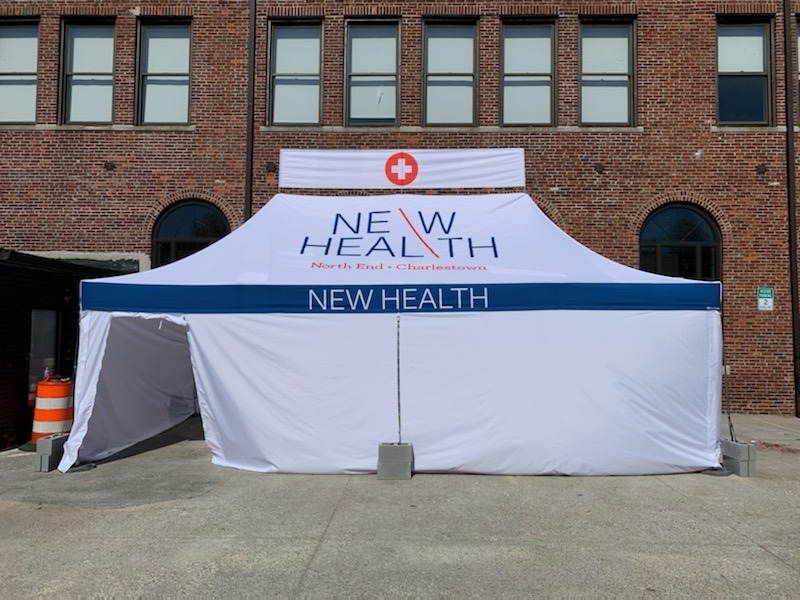 NEW Health Opens First COVID Testing Site In Charlestown