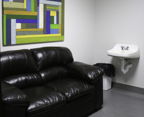 Glenwood Pet Hospital Comfort Room