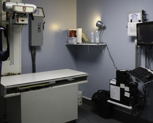 Glenwood Pet Hospital X-Ray Room