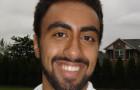 Wharton undergrad Puneet Singh (W'08) prefers the spotlight