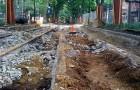 Who knew? Trolley tracks under Locust Walk!