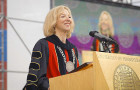 "Dr. Amy Gutmann to Penn grads: ""Nerds can get girls"""