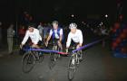 Spirited Alumni bike across the country(!) for scholarship!