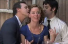 "Elizabeth Banks (C'96) doubles her pleasure in ""Shelly Likes David: Episode 2"""