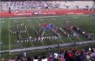 Cheerleaders, Oversized Batons, Men in dresses and Laser Beams! (Videos)