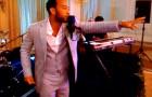 """John Legend (C'00) gets """"curbed"""""""