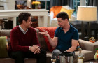 Watch Sean Hayes bumble through a blind date with Robert Gant