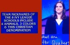 Penn Quakers is last night's Final Jeopardy answer