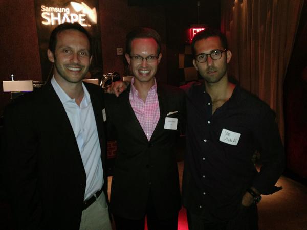 Matt Rosler, Jason Butler and Sam Goldberg